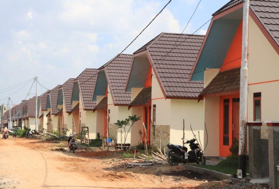 Perumahan Subsidi di Kalimantan Selatan (Foto: Rinaldi)