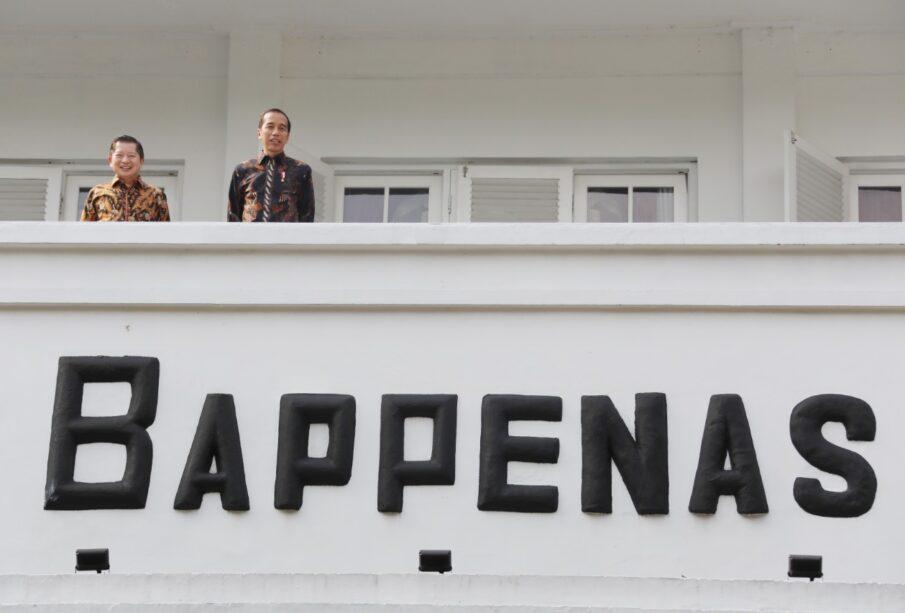 Presiden Jokowi saat Meninjau Integrated Digital Work di Bappenas 16 Januari 2020 (Foto: Muchlis JR)