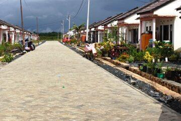 Prasarana jalan di perumahan/Foto ilustrasi (Istimewa)