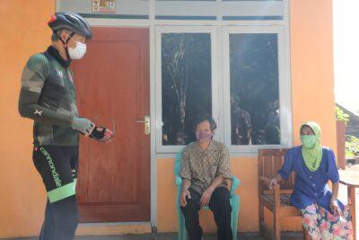 Ganjar Cek Hasil Konstruksi Rumah Unggul Sistem Panel Instan (Foto: Humas Pemprov Jateng)