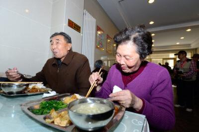 Kebutuhan Rumah untuk Lansia di Tiongkok Tinggi (Foto: Pei Qiang)