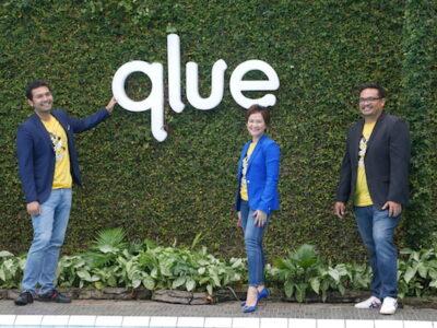 Founder Qlue Rama Arditya (kiri) bersama CCO Qlue Maya Arvini dan Co-Founder Qlue Andre Hutagalung (Foto: Istimewa)