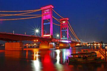 Jembatan Ampera di Kota Palembang (Foto: Dok Pemkot Palembang)