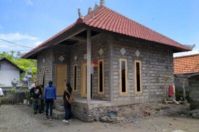 lustrasi rumah yang dibedah melalui program Bantuan Stimulan Perumahan Swadaya (Foto: Dok PUPR)