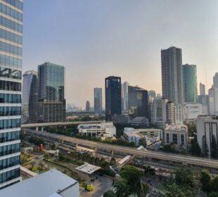 Landscape Jakarta, ilustrasi Penataan Ruang (Foto: ADH)