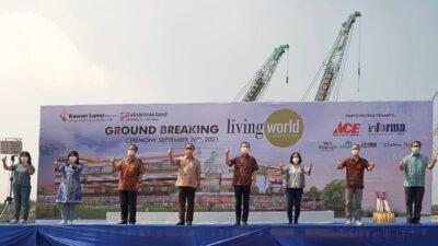 Groundbreaking pembangunan Living World di Grand Wisata Bekasi (Foto: Dok Sinarmas Land)