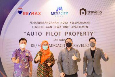 Penandatanganan MoU Megacity REMAX Travelio